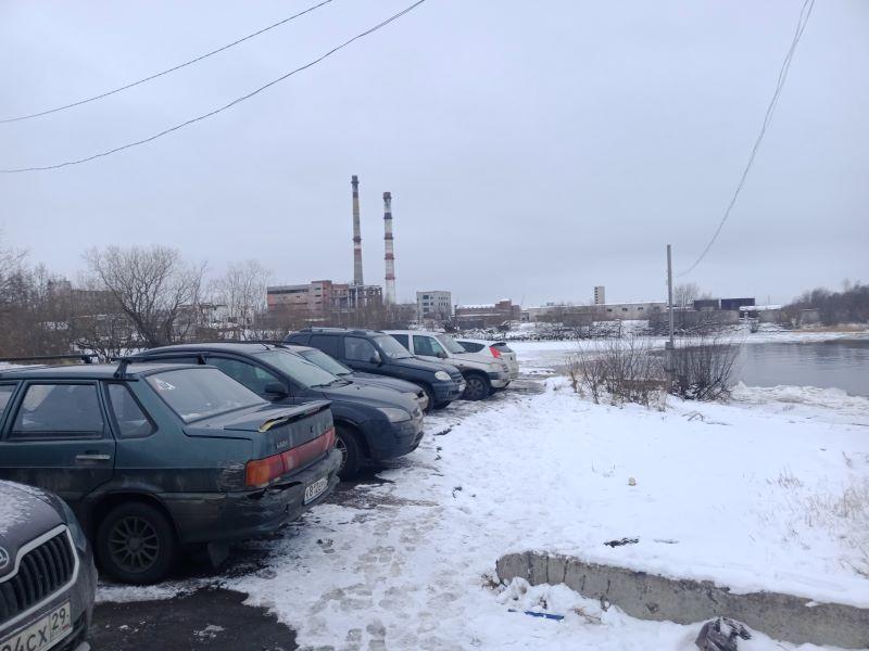Вид на гидролизный завод